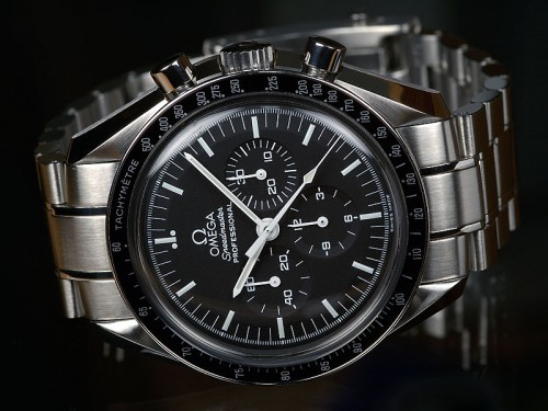 "The Omega Speedmaster, or ""Moonwatch"", selected by NASA for all the Apollo missions"